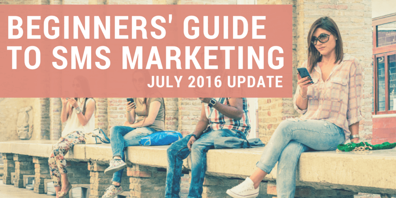 Beginners' guide to SMS marketing