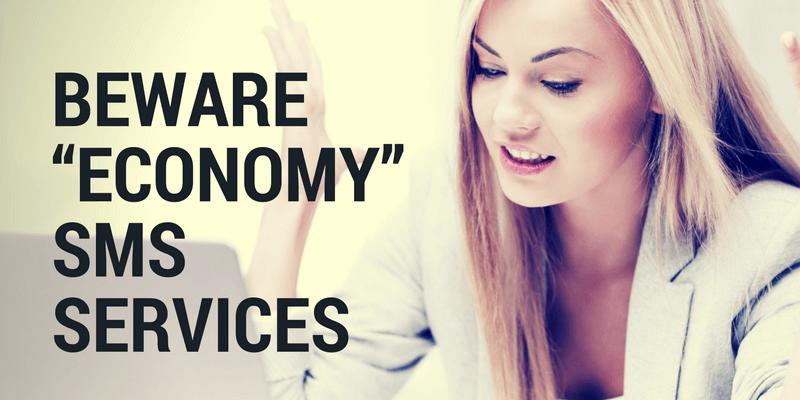 economy sms services