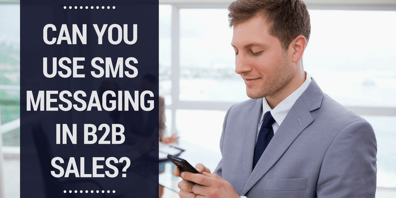 b2b sms messaging