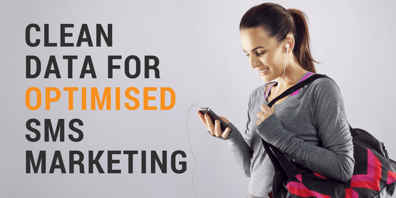 sms marketing and data cleaning