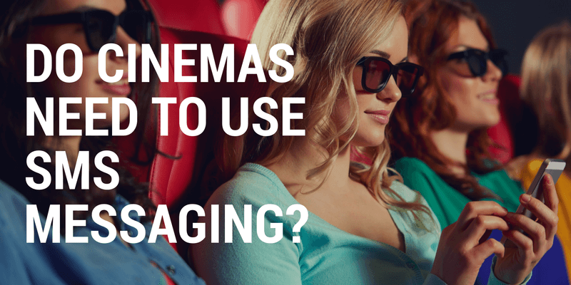 sms messaging for cinemas
