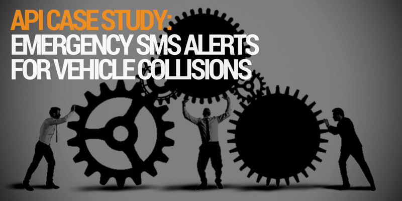Emergency SMS messages for vehicle accidents- A fastsms API case study