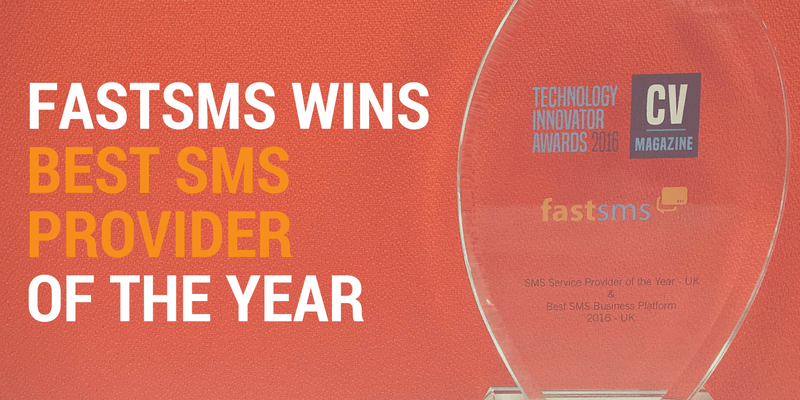 FastSMS wins best SMS provider of the year