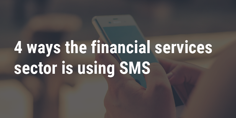 Financial services SMS