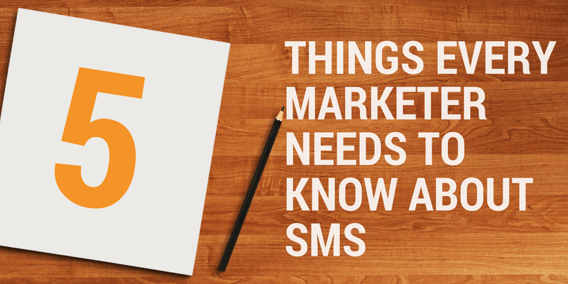sms marketing 5 tips