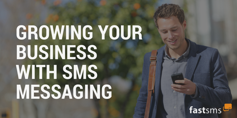 sms messaging to grow your business