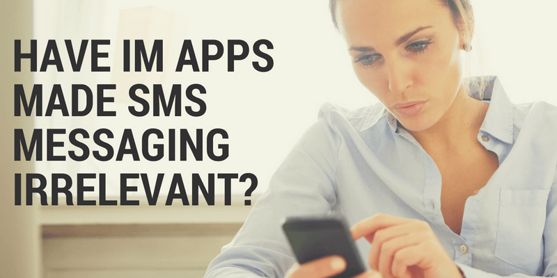 sms messaging vs apps