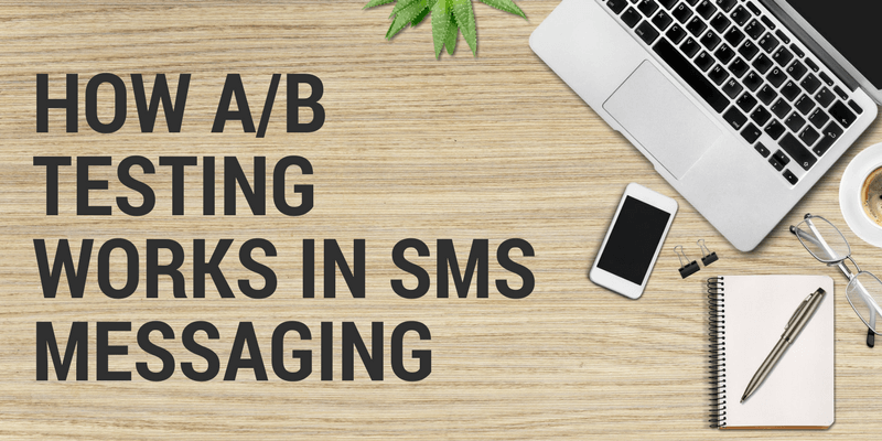 a/b testing sms messages