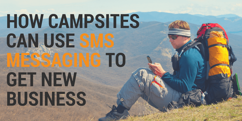 sms messaging for campsites