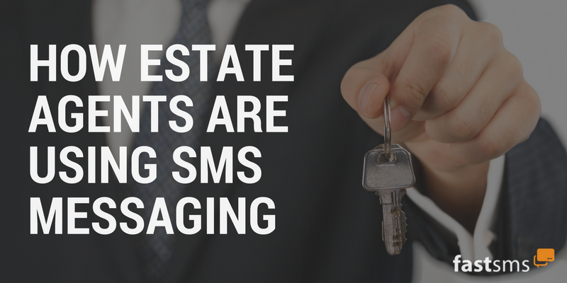 How Estate Agents are Using SMS Messaging