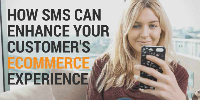 customer service driven by sms