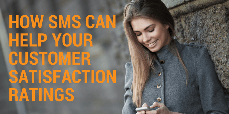 customer service using sms messaging