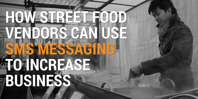 sms messaging helps street food vendors