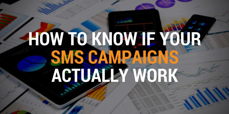 measure sms campaigns
