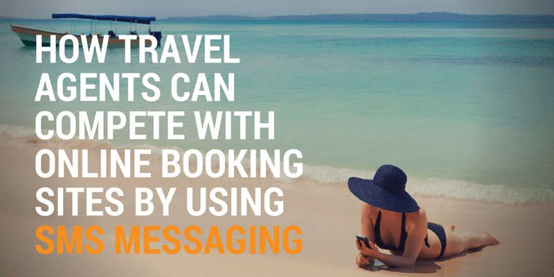 sms messaging for travel agents