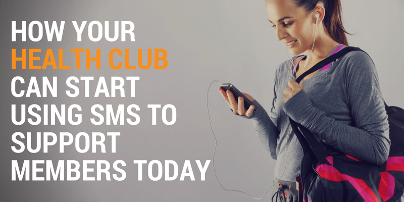 health clubs use sms