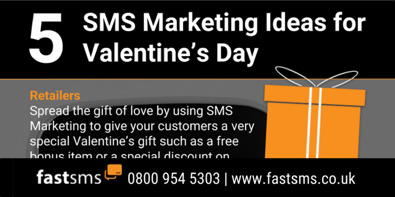 5 SMS Marketing Ideas for Valentine's Day