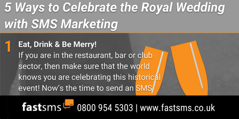 5 Ways to Celebrate the Royal Wedding with SMS Marketing