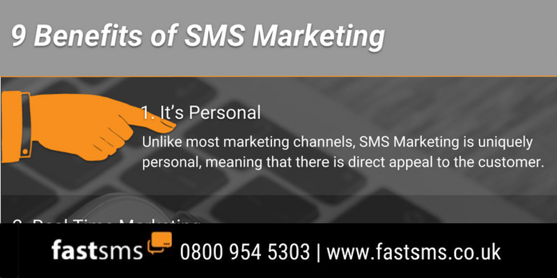 9 Reasons SMS Marketing Works - Infographic | Fastsms