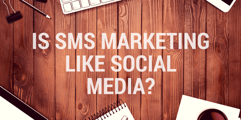 social media and sms marketing