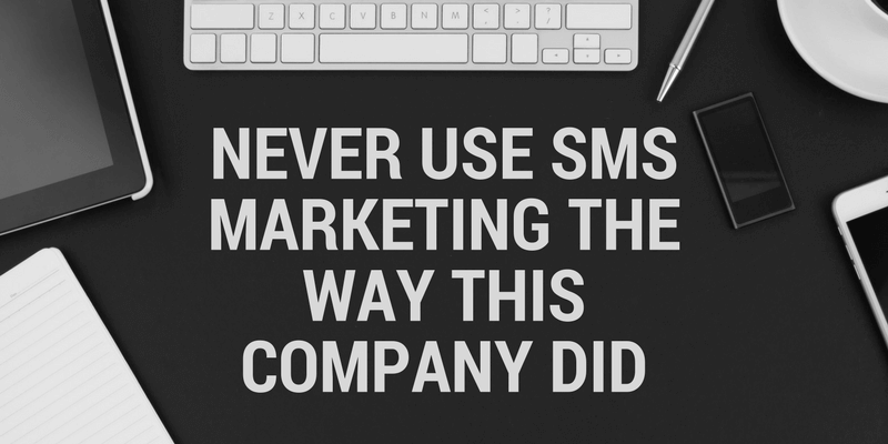 sms marketing pitfalls