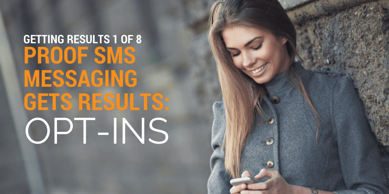 sms messaging opt-in success