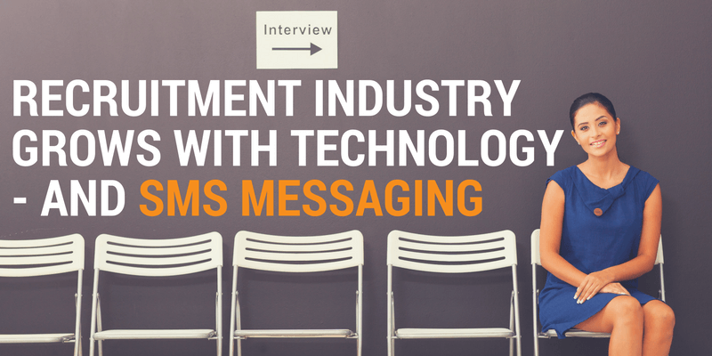 text messaging for recruitment companies