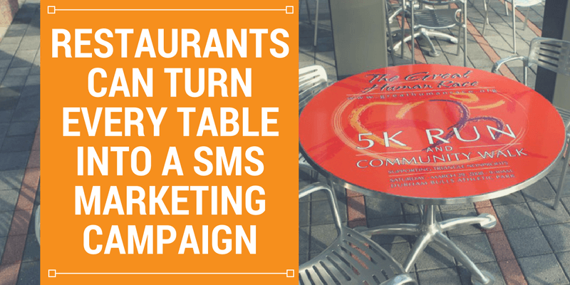 restaurant sms marketing