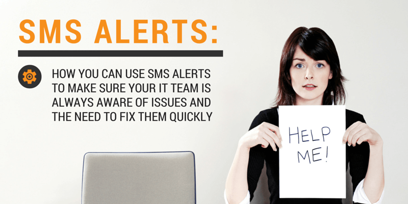 breakdown alerts via sms