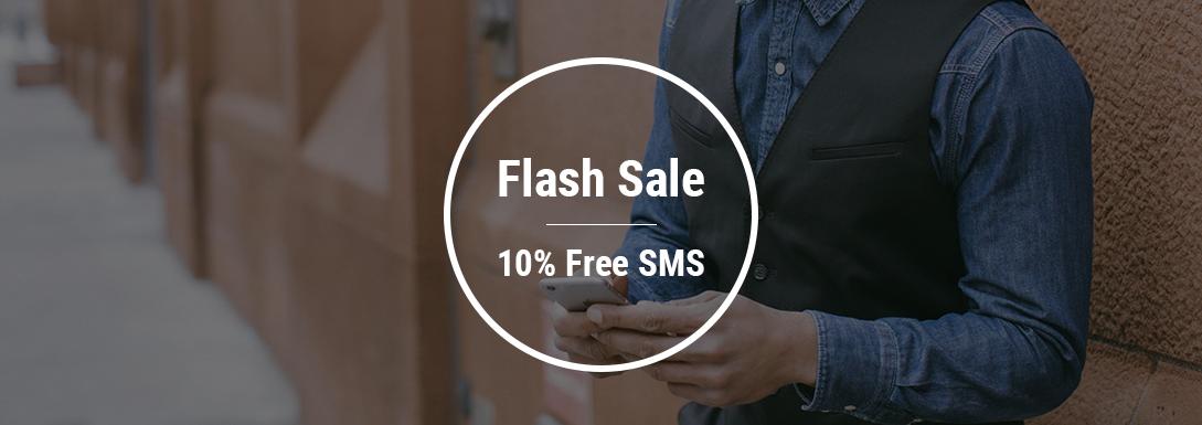 SMS Flash Sale