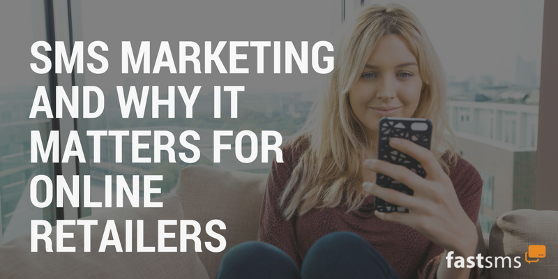 SMS Marketing for online retailers