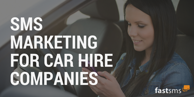 SMS Marketing for Car Rental Companies