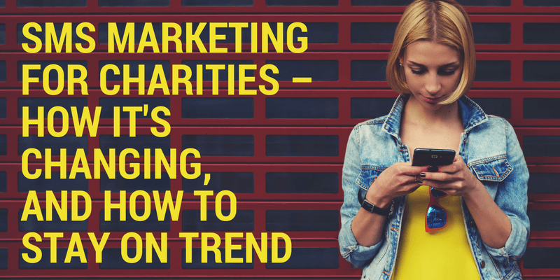 sms marketing for charities
