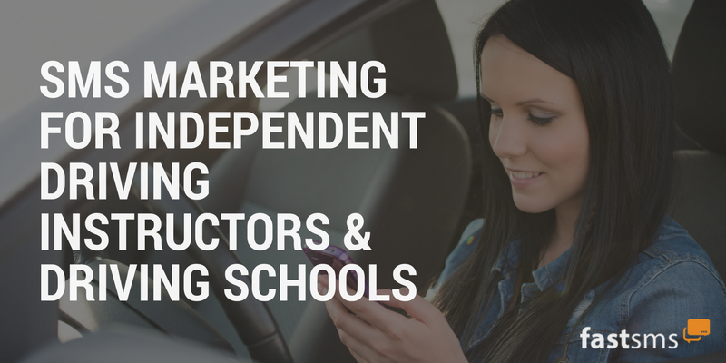 SMS Marketing for Independent Driving Instructors & Driving Schools