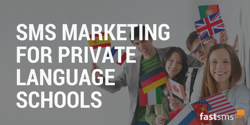SMS Marketing for Private Language Schools