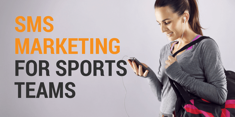 sms marketing for sports teams