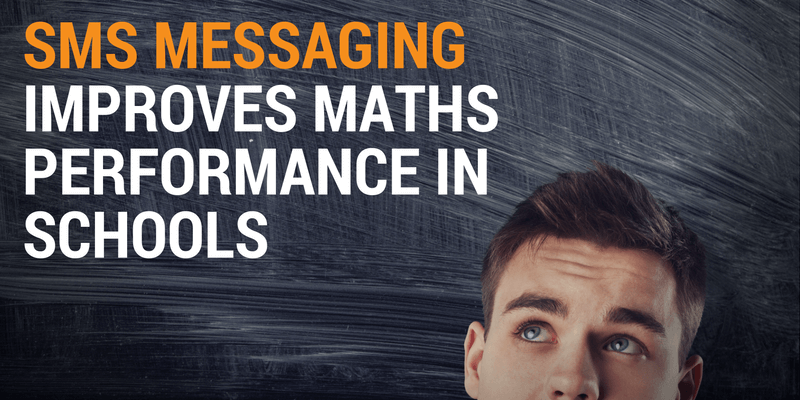 SMS Messaging Improves Maths Performance in Schools