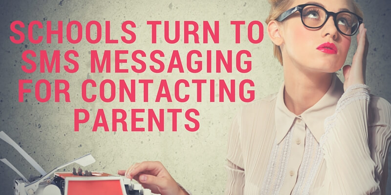 Schools turn to SMS messaging for contacting parents