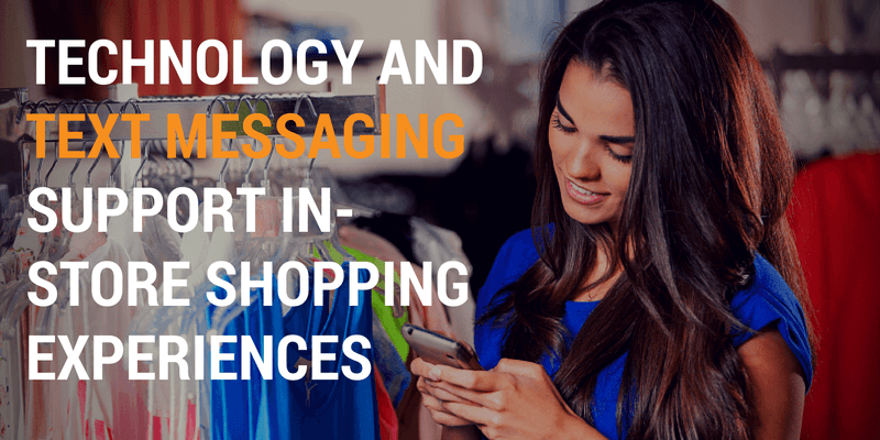 text messaging in store