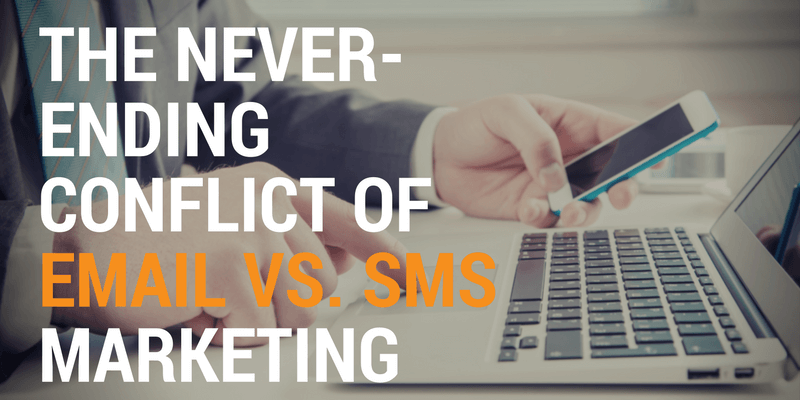 sms marketing vs email