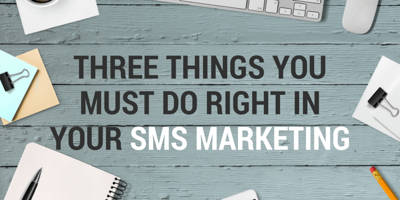 sms marketing rules