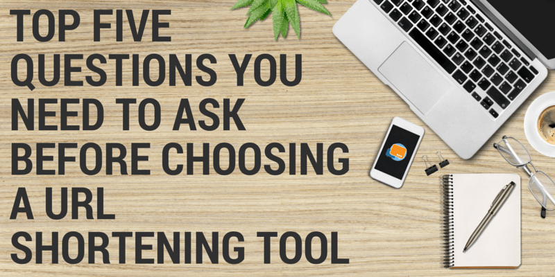 how to choose a url shortening tool