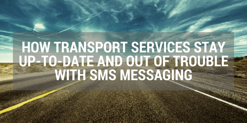 texting for taxis and trucks