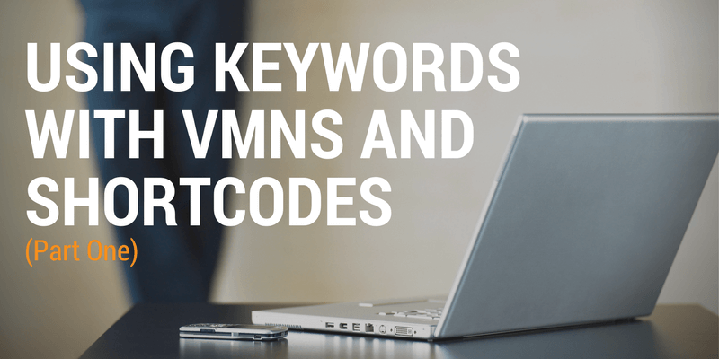 keywords vmns and shortcodes