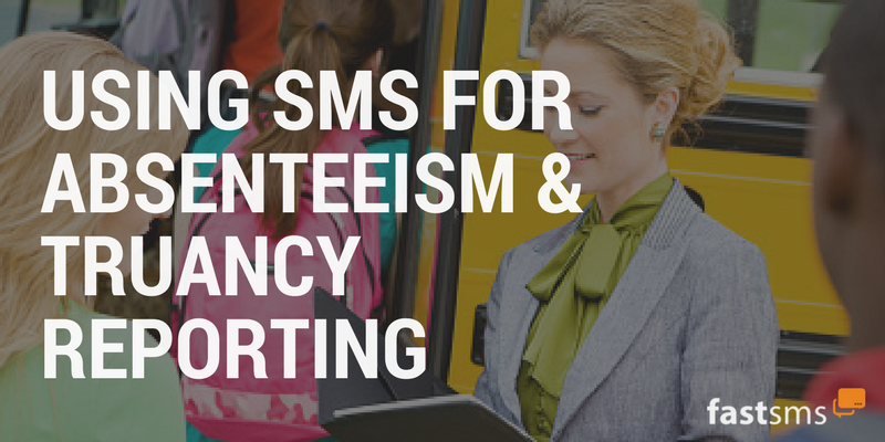 Using SMS for Absenteeism & Truancy Reporting