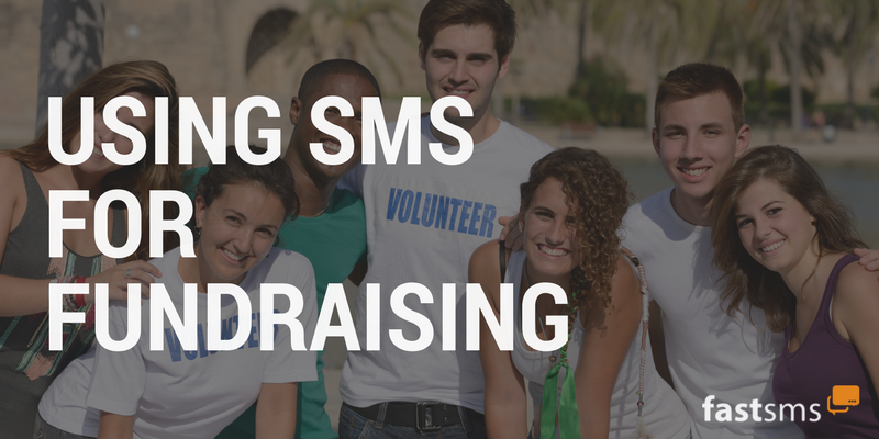 Using SMS for Fundraising
