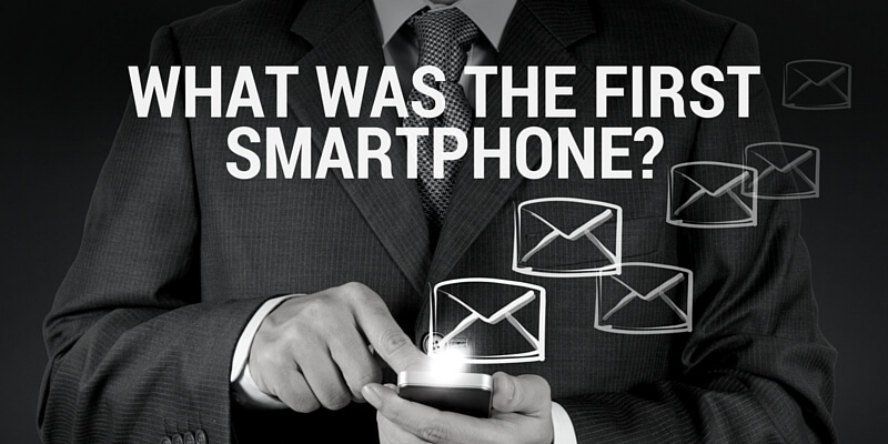 What was the First Smartphone