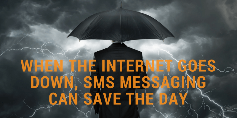 sms messaging disaster recovery