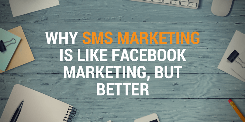 sms marketing vs facebook