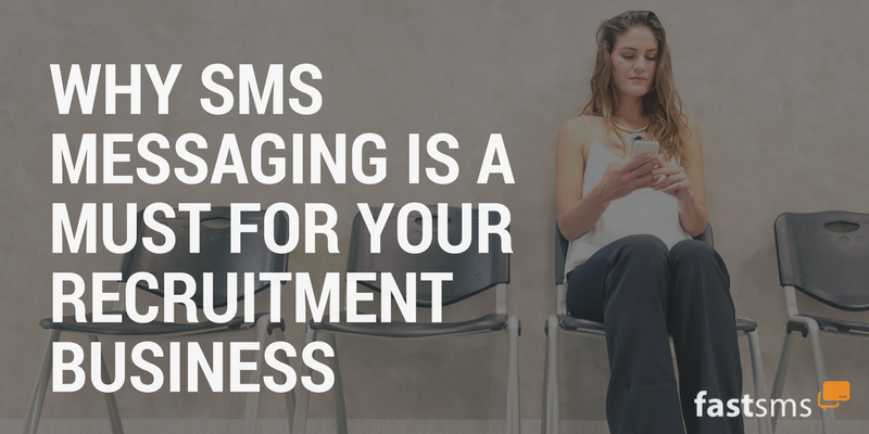 sms text messaging for recruitment businesses